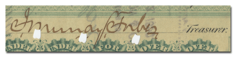 John Murray Forbes' Signature