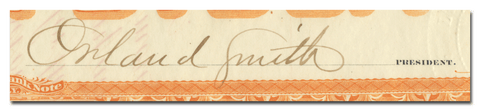 Orland Smith's Signature
