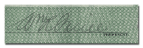 William A. Paine's Signature
