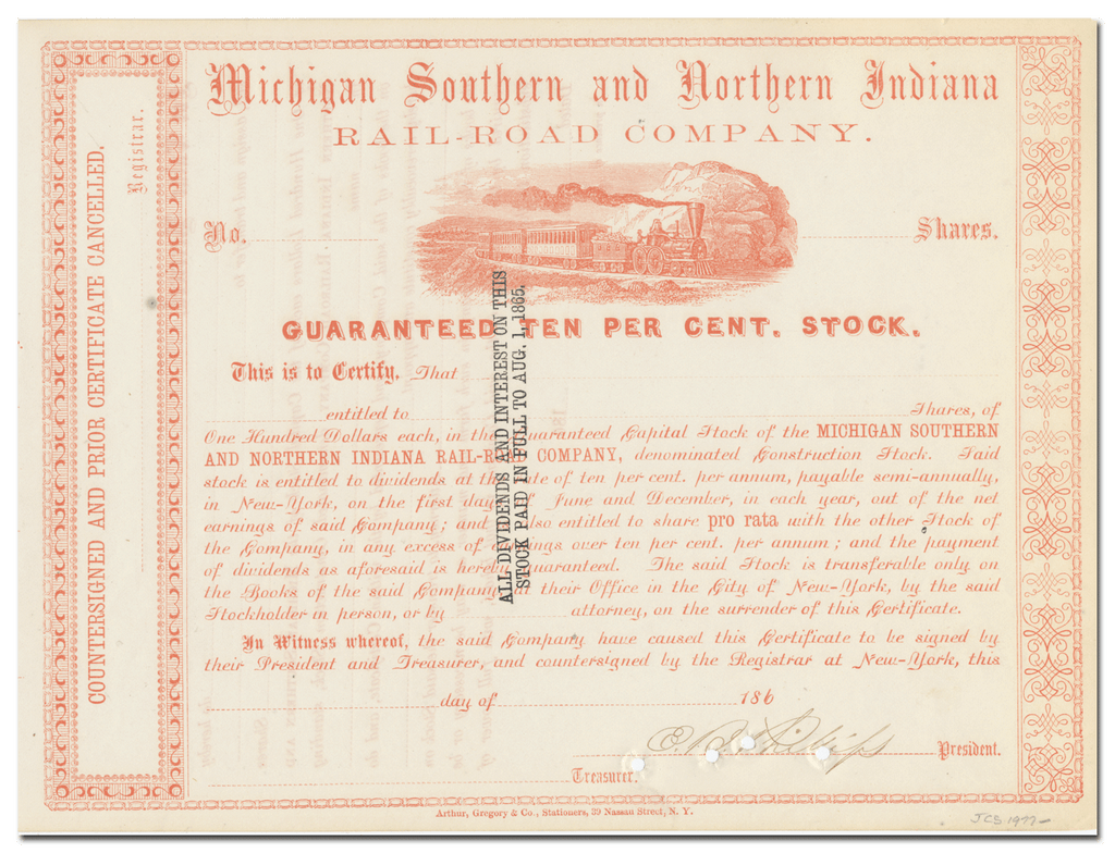 Michigan Southern and Northern Indiana Rail-Road Company