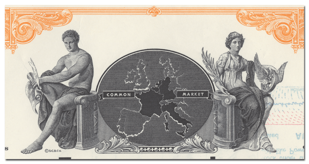 Eurofund, Inc. Stock Certificate