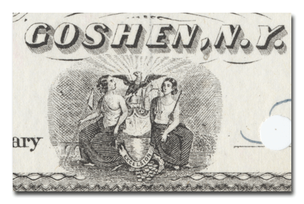 Goshen and Deckertown Railway Company Stock Certificate