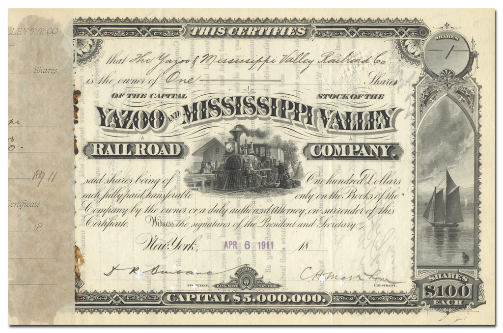 Yazoo and Mississippi Valley Railroad Company