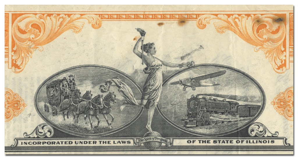 Montgomery Ward & Co., Incorporated Stock Certificate