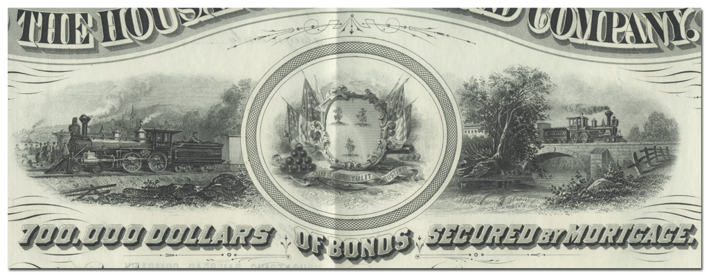 Housatonic Rail Road Company Bond Certificate