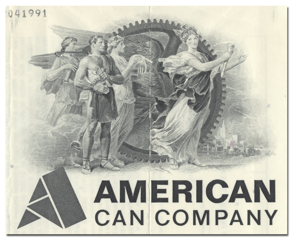 American Can Company Bond Certificate
