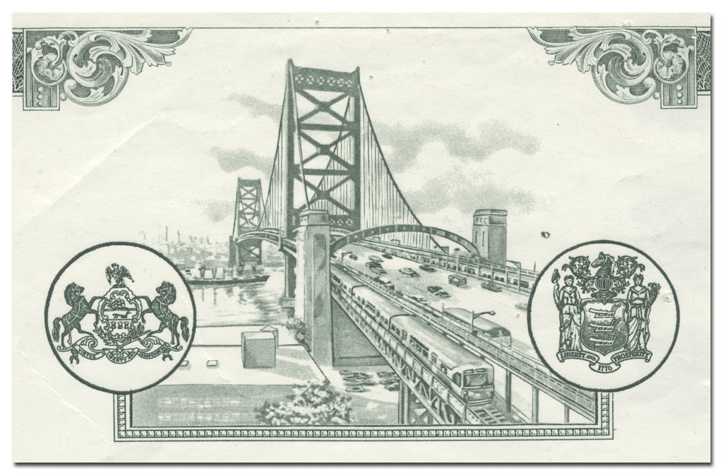 Delaware River Port Authority Bond Certificate