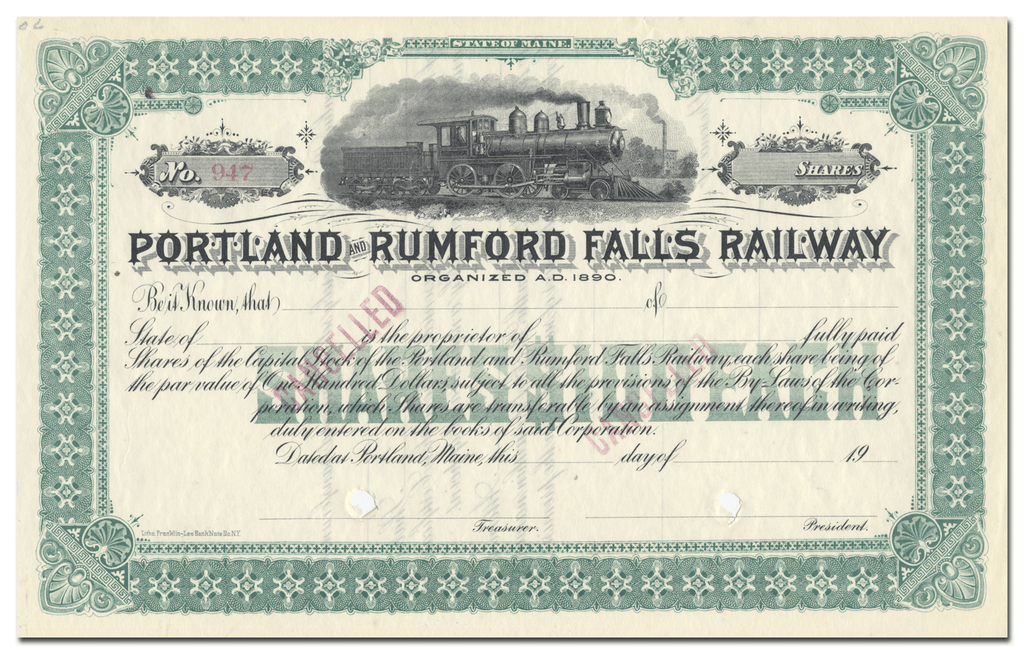 Portland and Rumford Falls Railway