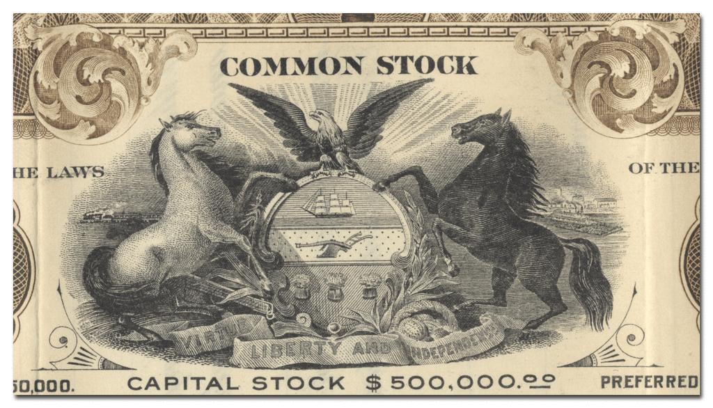 Standard Benefit Check Company Stock Certificate