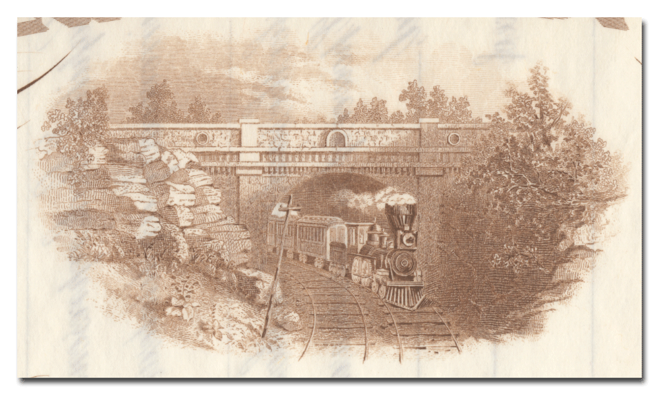 Tunnel Railroad of St. Louis Stock Certificate