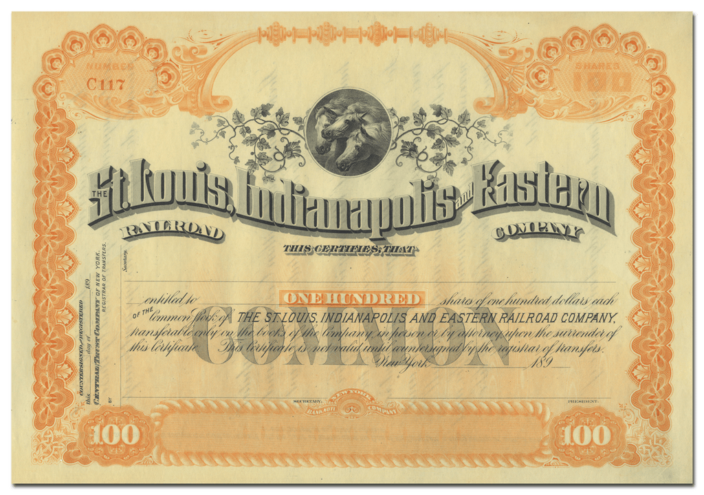 St. Louis, Indianapolis and Eastern Railroad Company
