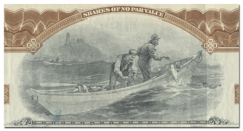 Booth Fisheries Company Stock Certificate