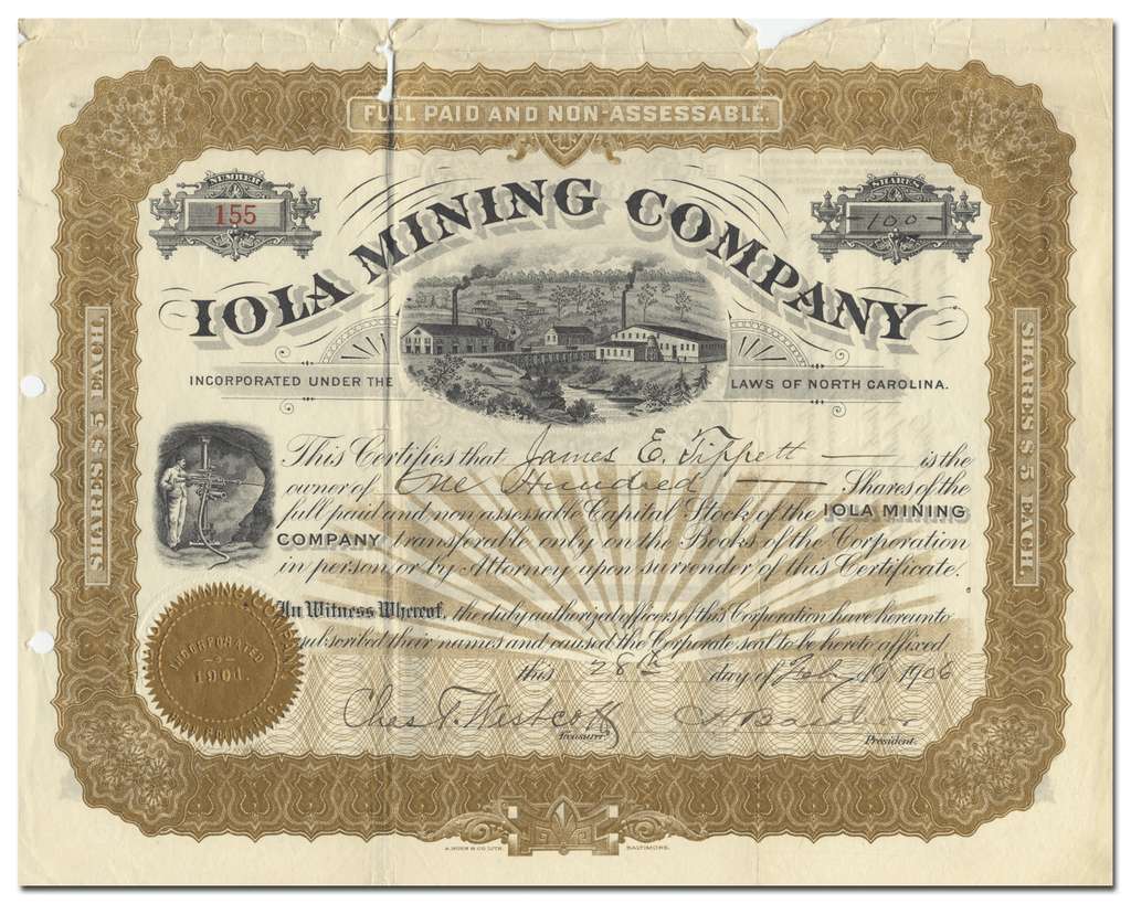 Iola Mining Company (North Carolina)