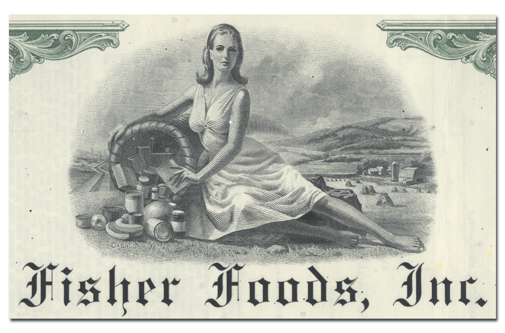 Fisher Foods, Inc. Bond Certificate