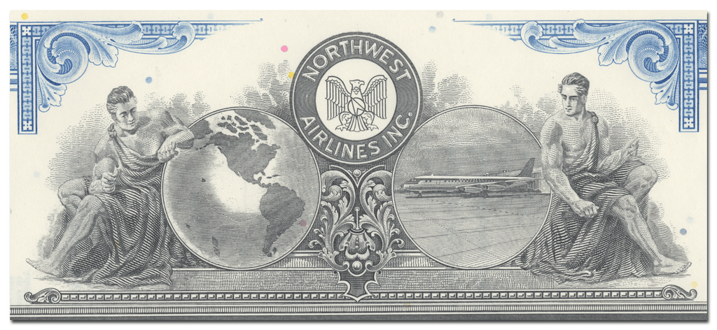 Northwest Airlines, Inc. Stock Certificate