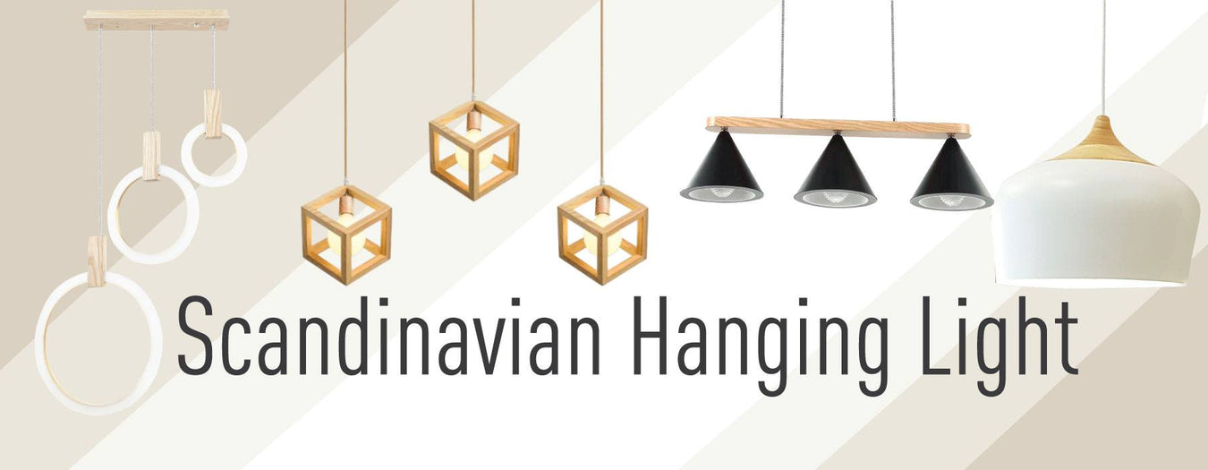 Scandinavian Hanging Light