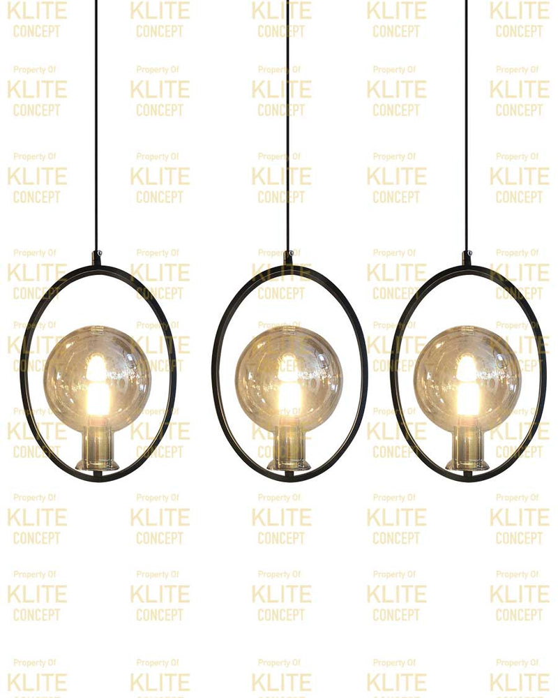 Circular Hanging Light