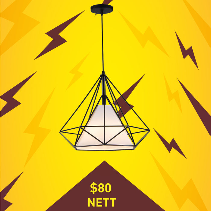 Pyramid Hanging Light