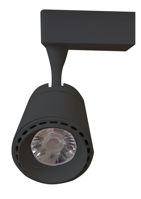 Bross LED Track Light in Black