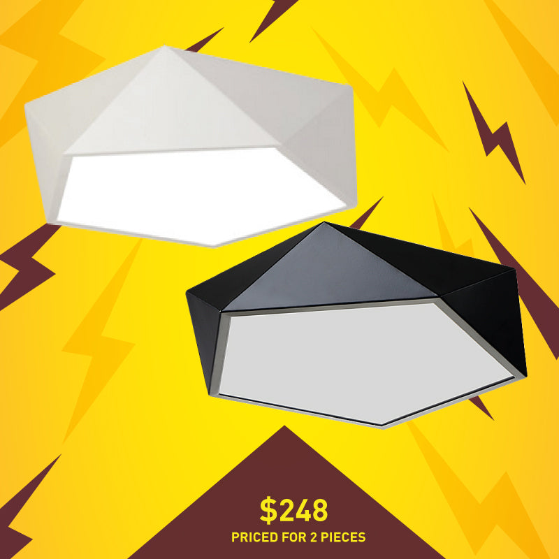 Pentagon LED Ceiling Light