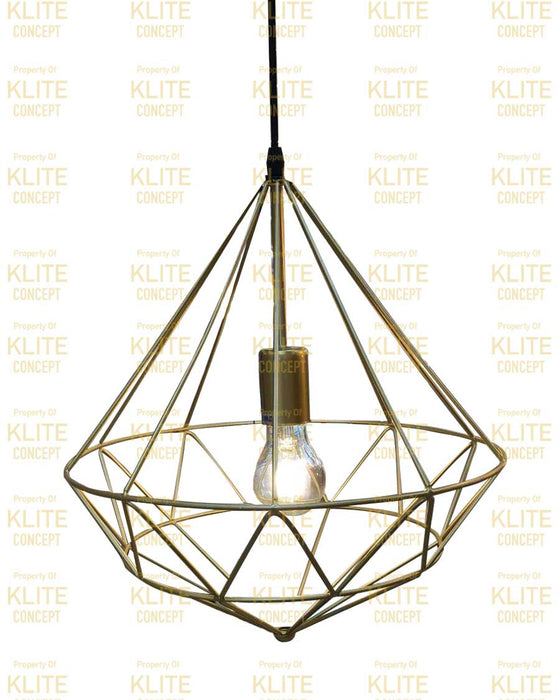Brassic Cage hanging Light