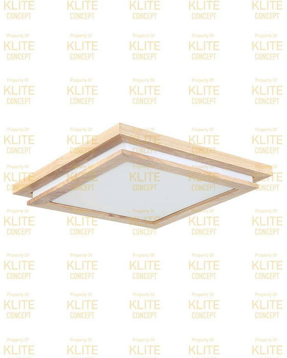 Double Tier Scandi Ceiling Light