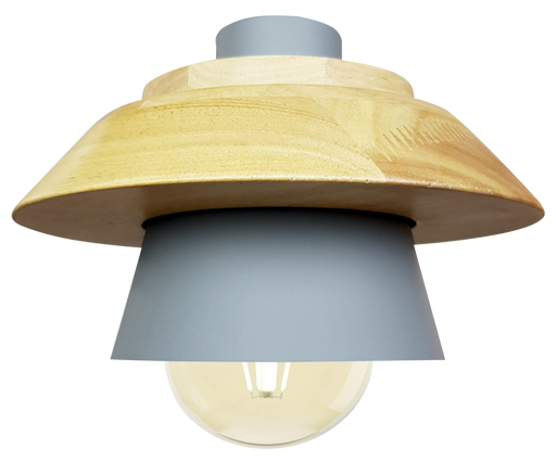 Scandinavian Grey Mushroom Hanging Light
