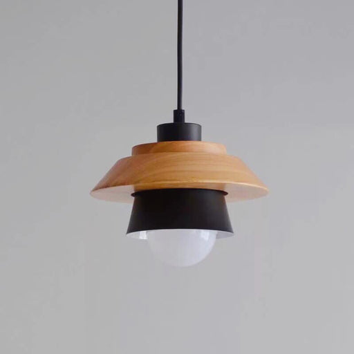 Scandinavian Black Mushroom Hanging Light