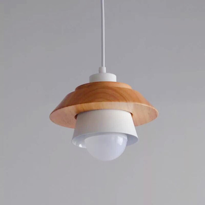 Scandinavian White Mushroom Hanging Light
