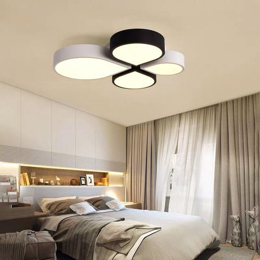 Clover Black & White Ceiling Light
