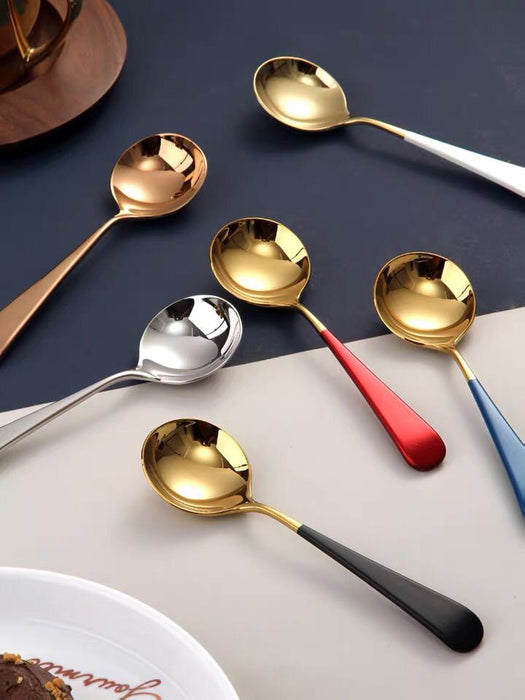 Pastel Gold Spoon