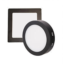 Hamburg Ceiling Lamp In Black Frame