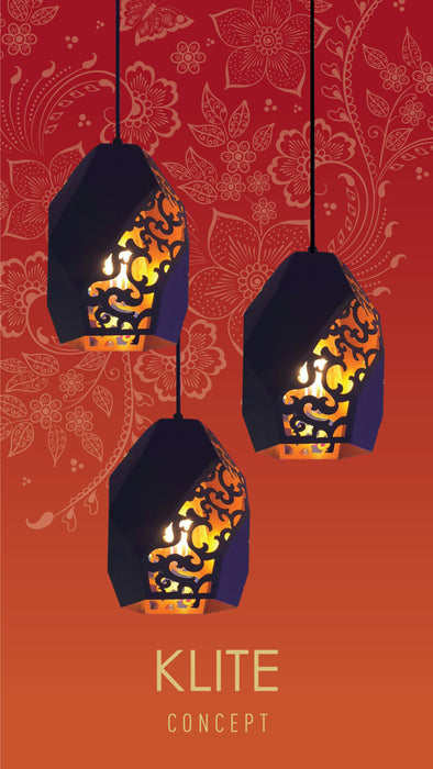 Oriental Modern Hanging Light