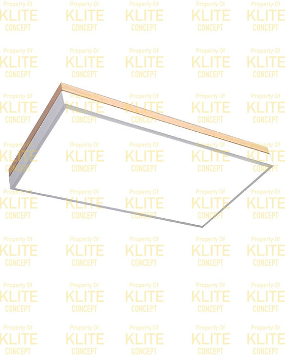 Rectangular Scandinavian Ceiling Light