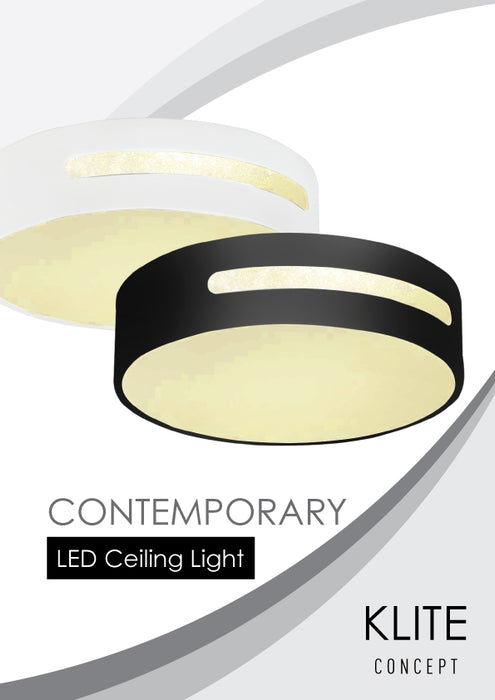 Black Modern Ceiling Light