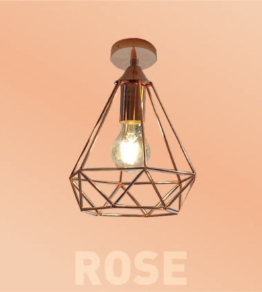 Rosegold Ceiling Mount Light