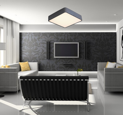 Contemporary Square Ceiling Light