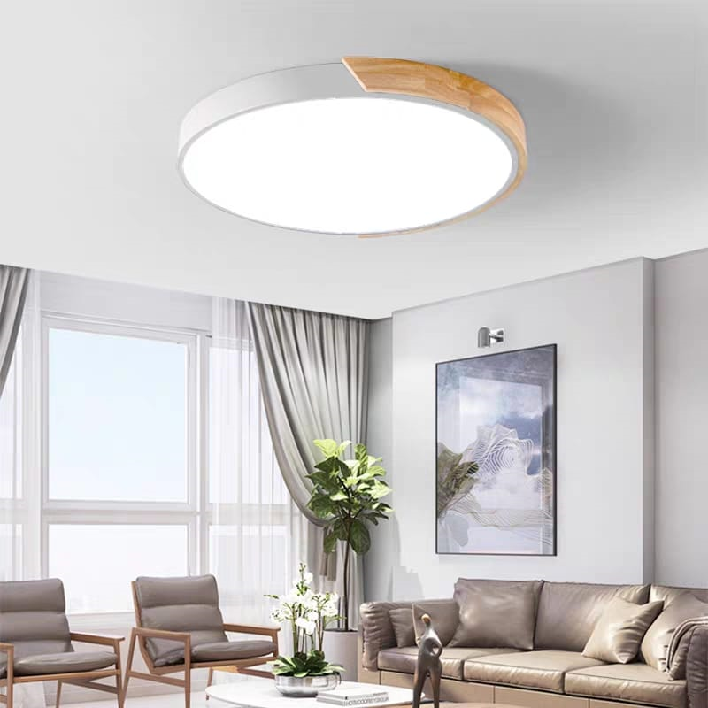 Macaroon Ceiling Light in White