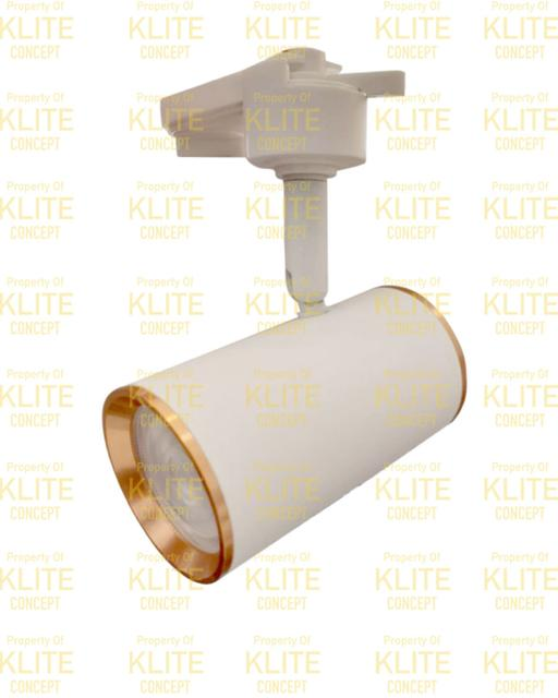 White Rosegold LED Track Light