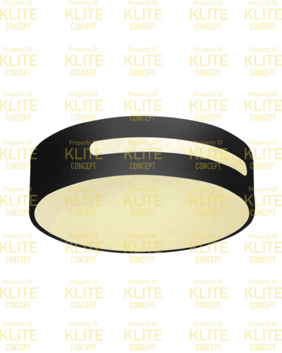 Burndie Round Ceiling Light