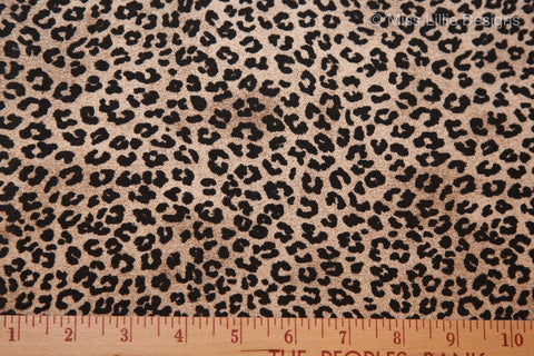 Cheetah – Black with Brown