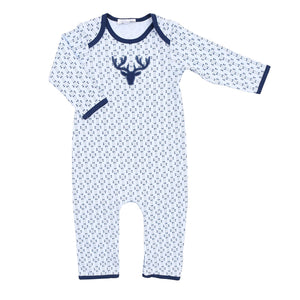 Magnolia Baby My First Buck Applique Playsuit