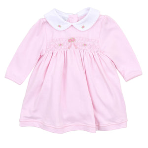 Magnolia Baby Ballet Dreams Smocked Collared Dress Set