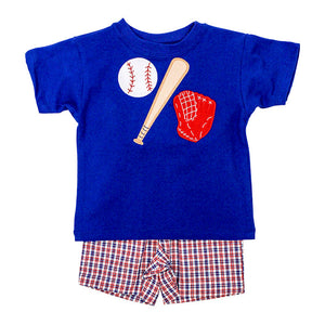 Bailey Boys Baseball Trio Boys Short Set