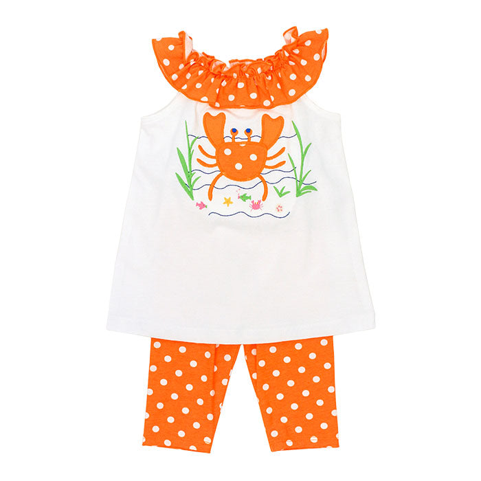 Bailey Boys Crab Capri Legging Set