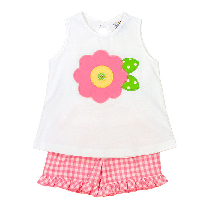 Bailey Boys Flower Girls Short Set