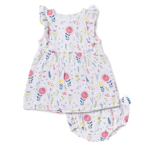 Angel Dear Hickory Dickory Dock Dress and Bloomers