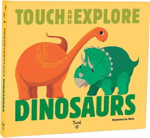 Touch & Explore Dinosaurs Book