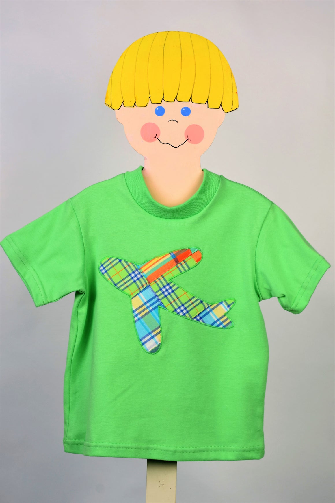 Airplane T-Shirt and Shorts Set