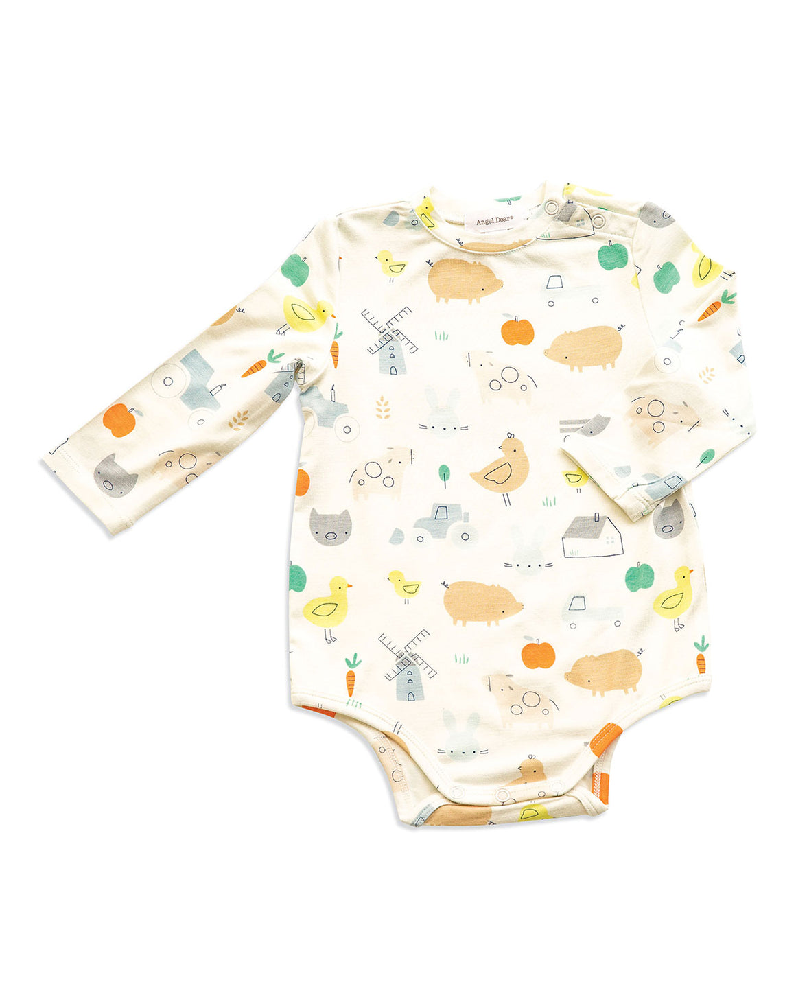 Angel Dear Bodysuit/Pocket Overalls SET